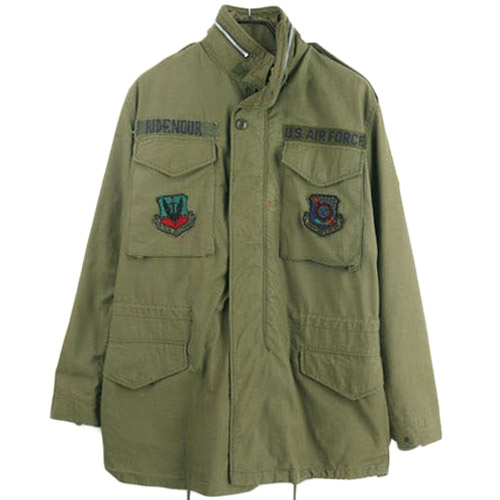 60'S USA M-65 FIELD JACKET MEDIUM LONG  미군 M-65 필드자켓 SIZE 95 루스, ROOS