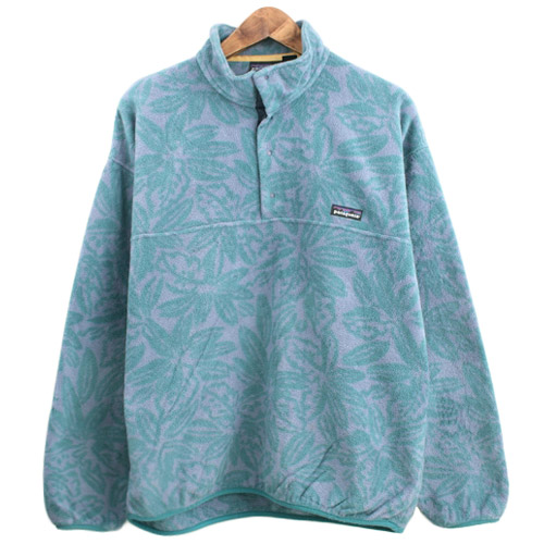 90's patagonia fleece snap-T  made in usa 파타고니아 스냅티 SIZE 107 루스, ROOS