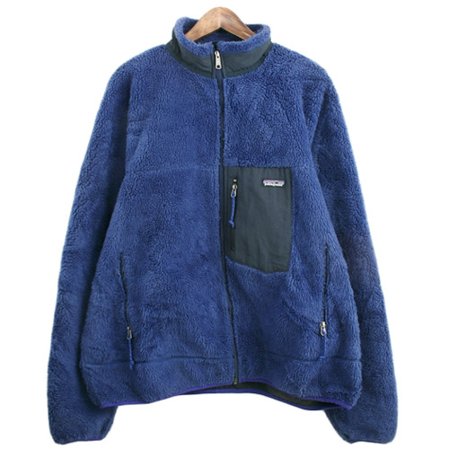 90's patagonia retro x file jacket  made in canada  파타고니아 레트로 엑스 SIZE 110 루스, ROOS