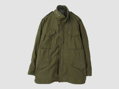 60's ORIGINAL USA M-65 FIELD JACKET 미군 M-65 필드자켓 SIZE 105 루스, ROOS